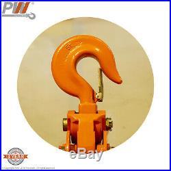 ProWinch 5 Ton Electric Chain Hoist 30ft G100 Chain M4/H3 220/440V