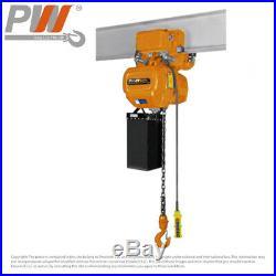 ProWinch Electric Chain Hoist Power Trolley 2,200 lbs. 20 ft. G100 Chain