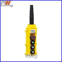Prowinch 1/2 Ton Electric Chain Hoist 20ft G100 Chain M4/H3 208240/380/460V