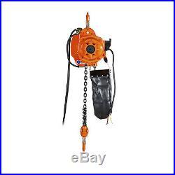 Prowinch 1 Ton Electric Chain Hoist 20ft G100 Chain M4/H3 208240/380/460V