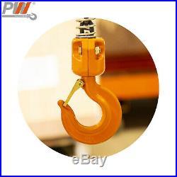 Prowinch 1 Ton Electric Chain Hoist Power Trolley 20 ft. FEC G80 Japan Chain