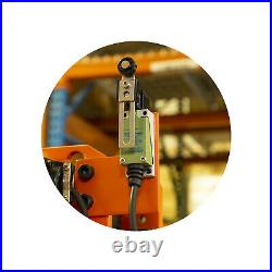 Prowinch 2 Speed 1 Ton Electric Chain Hoist Power Trolley 20 ft. FEC G80 Japa