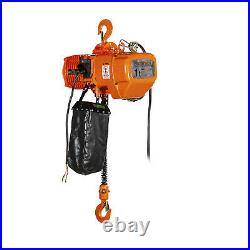Prowinch 2 Speed 1 ton Electric Chain Hoist 20 ft G100 Chain M4/H3 230/380/460V