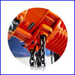 Prowinch 2 Speed 2 Ton Electric Chain Hoist Power Trolley 20 ft. FEC G80 Japa
