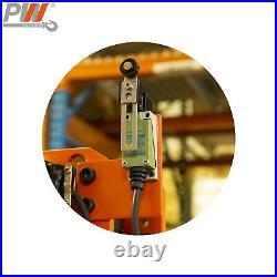 Prowinch 2 Speed 5 Ton Electric Chain Hoist Power Trolley 30 ft. FEC G80 Japa