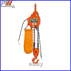 Prowinch 2 Speed 5 ton Electric Chain Hoist 30 ft G100 Chain M4/H3 230/380/460V