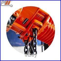 Prowinch 3 Ton Electric Chain Hoist 30ft G100 Chain M4/H3 208240/380/460V