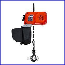 Prowinch 330 Lb Mini Electric Chain Hoist 10 ft Chain 110V