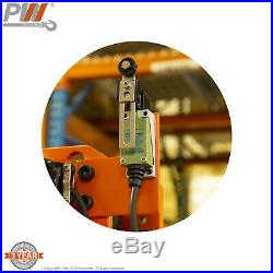 Prowinch 5 Ton Electric Chain Hoist Power Trolley 30 FT. FEC G80 Japan Chain