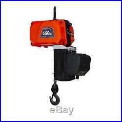 Prowinch 660 Lb Mini Electric Chain Hoist 10 ft Chain 110V Wireless