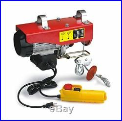 Pulley Chain Hoist Electric Garage Lift Overhead Chain Winch Shop Cable Ceiling