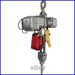 Roughneck Round Chain Electric Hoist -1-Ton Capacity