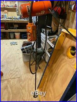 Shopstar Cmco CM Electric Chain Hoist 300 Lbs 120v