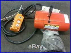 Shopstar Cmco CM Electric Chain Hoist 300 Lbs 120v. Ss2116wy