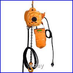 VEVOR Electric Chain Hoist 1100 lbs 1/2 ton 110V Electric Crane Hoist 20ft