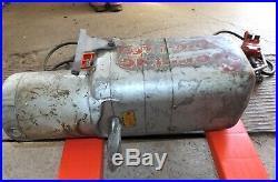 Vintage Coffing 1/2 Ton Electric Chain Hoist, 220/440 volts