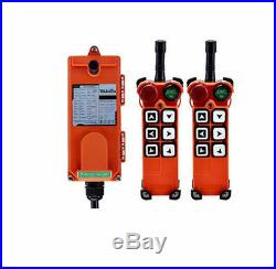 Wireless Remote Control Electric Chain Hoist Crane Controller F21-E1 (2T+1R)