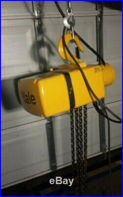 Yale 3 Ton Electric Chain Hoist